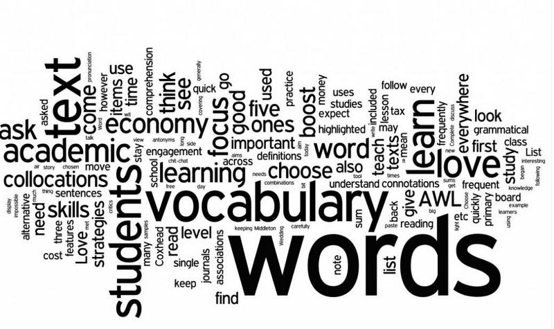 Words and meanings - letter A
