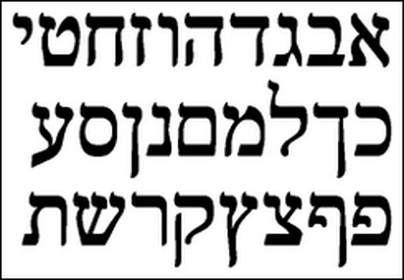Terms in Hebrew