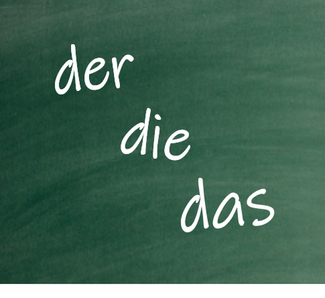 Singular and Plural German Nouns with Articles